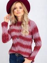 Bordowy sweter West                                  zdj.                                  5