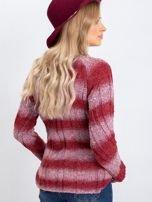 Bordowy sweter West                                  zdj.                                  2