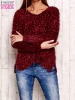 Biały sweter long hair                                                                          zdj.                                                                         1
