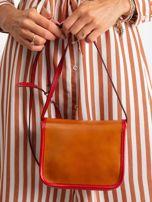 Brązowa damska torebka ze skóry                                  zdj.                                  3