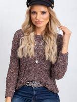 Brązowy sweter Andrea                                  zdj.                                  1