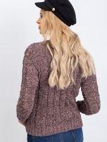 Brązowy sweter Andrea                                  zdj.                                  2
