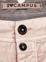 Brzoskwiniowe spodnie męskie                                   zdj.                                  3