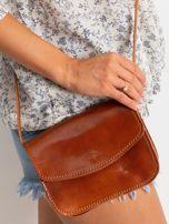 Camelowa torebka damska ze skóry naturalnej                                  zdj.                                  1