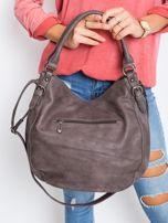 Ciemnobrązowa torba damska na ramię                                  zdj.                                  3