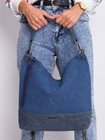 Ciemnoniebieska klasyczna torba                                  zdj.                                  2
