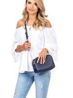 Ciemnoniebieska torba z dzielonymi komorami                                  zdj.                                  5