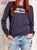 Ciemnoszara bluza z napisem ARIGATO
