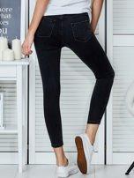 Ciemnoszare jeansy rurki                                   zdj.                                  2