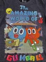 Ciemnoszary t-shirt chłopięcy GUMBALL                                  zdj.                                  4