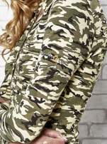 Ciemnozielona bluzka z motywem moro                                  zdj.                                  6