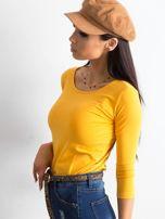 Ciemnożółta bluzka Mona                                  zdj.                                  3