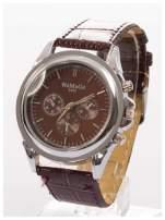 Cudny zegarek damski na brązowym pasku                                  zdj.                                  2
