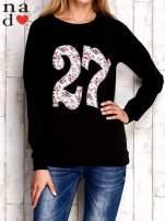 Czarna bluza z cyfrą 27                                  zdj.                                  1