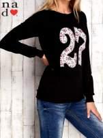 Czarna bluza z cyfrą 27                                  zdj.                                  3