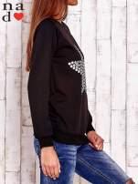 Czarna bluza z gwiazdą                                  zdj.                                  3
