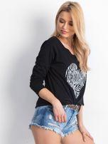 Czarna bluzka Wearable                                  zdj.                                  3