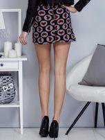 Czarna spódnica mini w serduszka                                  zdj.                                  2