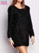 Czarna sukienka fluffy                                   zdj.                                  3