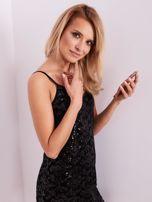 Czarna sukienka mini                                   zdj.                                  7