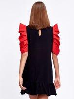 Czarno-czerwony strój wróżki                                  zdj.                                  2