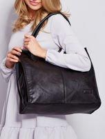 Czarna torba na ramię w miejskim stylu                                  zdj.                                  7