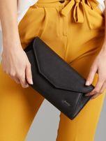 Czarna torebka kopertówka                                  zdj.                                  5