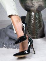 Czarne lakierowane szpilki Jennifer w szpic                                  zdj.                                  1