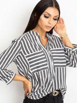 Czarno-biała bluzka Sienna                                  zdj.                                  1