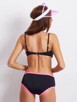 Czarno-różowe bikini Underneath                                  zdj.                                  2