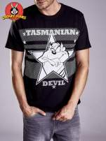 Czarny t-shirt męski LOONEY TUNES                                  zdj.                                  4