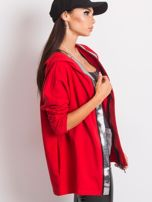 Czerwona bluza Gianna                                  zdj.                                  3