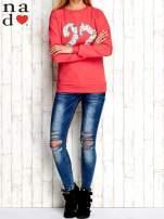 Czerwona bluza z cyfrą 27                                  zdj.                                  4