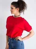 Czerwona bluzka Lemontree                                  zdj.                                  4