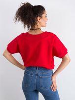 Czerwona bluzka Lemontree                                  zdj.                                  2