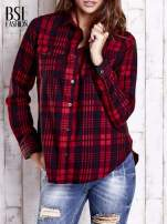 Czerwona koszula w kratę                                                                          zdj.                                                                         2