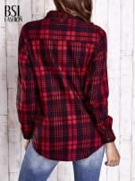 Czerwona koszula w kratę                                                                          zdj.                                                                         5