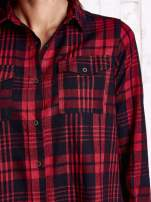 Czerwona koszula w kratę                                                                          zdj.                                                                         6