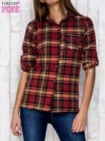Czerwona koszula w kratę                                   zdj.                                  1