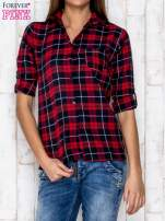 Czerwona koszula w kratkę                                  zdj.                                  1