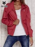 Czerwona kurtka ze stójką i ściągaczem na dole                                  zdj.                                  8
