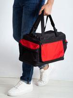 Czerwona męska torba treningowa                                  zdj.                                  1