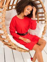 Czerwona sukienka Cristine                                  zdj.                                  3