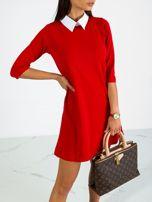 Czerwona sukienka Poppy                                  zdj.                                  5