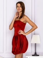 Czerwona sukienka bombka                                  zdj.                                  5