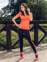 Czerwone buty sportowe damskie z elastyczną podeszwą
