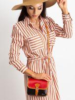 Czerwono-czarna damska torebka                                  zdj.                                  1