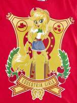Czerwony t-shirt dla dziewczynki EQUESTRIA GIRLS                                  zdj.                                  4