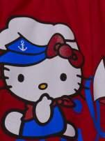 Czerwony t-shirt dla dziewczynki HELLO KITTY                                  zdj.                                  3
