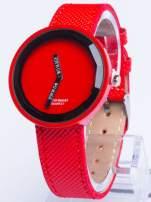 Czerwony zegarek damski na pasku                                  zdj.                                  1